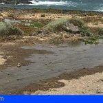Un nuevo vertido de aguas fecales se produce en Pelada, Granadilla de Abona
