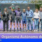 Eusebio Pascual, del equipo Mutua Levante, gana la LXIII Vuelta Ciclista Isla de Tenerife