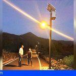 El Ayto. de Santiago del Teide dota a su zona rural de alumbrado fotovoltaico
