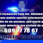 La Policía Nacional solicita colaboración para identificar un audio anónimo relacionado con un homicidio cometido en Santander