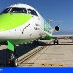 La nueva ruta de Binter entre Vigo y Tenerife comienza a operar a finales de octubre
