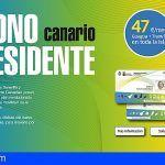 El nuevo Bono Residente para tenerife permite viajar en guagua y tranvía por 47 euros al mes