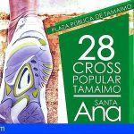 Más de 150 atletas participarán en el Cross Popular Santa Ana de Tamaimo