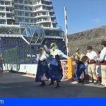 La Gomera incrementa en un 13% la llegada de cruceristas durante los próximos cuatro meses