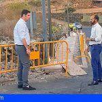 Santiago del Teide realizan obras de mejora en la red de abastecimiento de agua en El Retamar