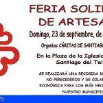 Santiago del Teide acoge una Feria Solidaria de Artesanía