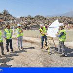 La construcción de la depuradora del Valle de Güímar es supervisada por el Cabildo