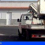 Arafo | El Carmen Se Mueve solicita se desintale el brazo hidráulico para colocar un volquete