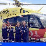 Los helicópteros y el avión medicalizado del SUC realizaron más de 900 intervenciones en el primer semestre de 2018
