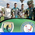 Aday Rodríguez y Daniel Palenzuela ganan en Adeje el II Torneo Isla de Tenerife por parejas