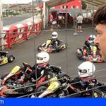 Arona. Diez jóvenes pilotos se estrenan en la primera prueba de la Copa de Iniciación Tenerife 2030 de karting