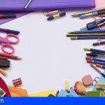 Abierto el plazo para solicitar las ayudas de material escolar en San Sebastián de La Gomera
