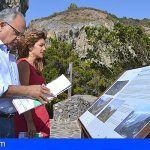 La Gomera renueva una treintena de paneles informativos en su red de miradores