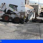 Inician en Guía de Isora la tercera fase del plan de asfaltados