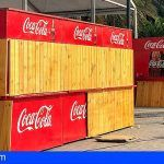 Recuperan en La Gomera la imagen de los quioscos de madera de cara a las Fiestas Lustrales