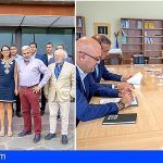 Adeje. Ashotel y el CEST piden a Reyes Maroto una regulación unificada de las actividades en el litoral