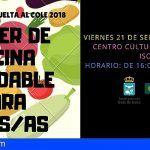 Guía de Isora desarrollará un taller de cocina infantil el viernes 21 septiembre