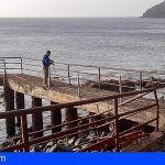 El Cabildo de La Gomera realiza tareas de mejora en la accesibilidad y seguridad de Puntallana