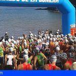 Más de 230 deportistas participan este sábado en el XXIV Triatlón Isla de La Gomera