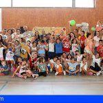 El campamento infantil de verano de San Miguel cierra con una jornada de convivencia