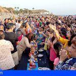 La Enramada en Adeje acogió el pasado domingo la ofrenda a la deidad india Ganesha