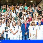 El Hospital de La Candelaria forma a 61 futuros auxiliares de enfermería