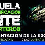 Presentación de la escuela de tecnificación de porteros Elite en Santiago del Teide