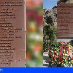 La Gomera recuerda a las víctimas del incendio de 1984 en su 34 aniversario