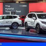CR-V Hybrid y HR-V 2019, novedades Honda para el Salón de París 2018