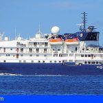 La Gomera | Valle Gran Rey recibe el primer crucero de la temporada