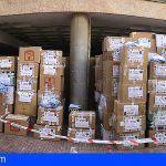 34 detenidos por delitos contra la propiedad industrial en Playa del Inglés, Gran Canaria