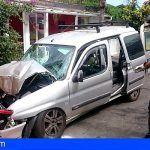 Una mujer fallecida y un herido en un accidente de tráfico en San Juan de la Rambla, Tenerife