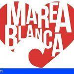 Mareas Blancas de Gran Canaria y Tenerife confluyen como «Marea Blanca Canaria»