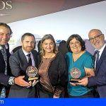 La marca Islas Canarias, ganadora por tercera vez consecutiva de los prestigiosos premios Eficacia