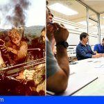 La productora de 'Rambo V' se reúne con el Cabildo para ultimar los detalles del rodaje en Tenerife