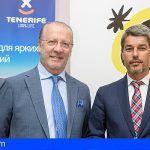 Tenerife presenta las novedades del destino a 200 agentes de viajes de Rusia