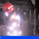 Extinguen un incendio en un restaurante en Icod de los Vinos