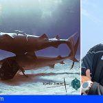 Karlos Simón contará en el Festival Arona Son Atlántico la experiencia de su récord de permanencia nadando con tiburones tigre