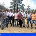 43 explotaciones agrícolas de Güímar se beneficiarán de la mejora la pista de Los Pelados
