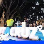 Santa Cruz enciende la Navidad con un alumbrado de 2,5 millones de bombillas