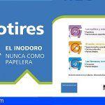 El ayuntamiento de Adeje se apunta a #NoLoTires apostando por un saneamiento limpio