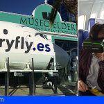 Los vuelos virtuales de Canaryfly despegan desde el Museo Elder en Gran Canaria