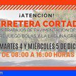 La Gomera inicia las obras de pavimentación entre Juego de Bolas y La Laguna Grande a partir del próximo lunes
