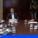 Clavijo y Alonso reclaman una nueva terminal en el aeropuerto Tenerife Sur y solicitan una reunión con Ábalos