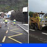 El Cabildo invierte cerca de 230.000 € en Garachico para reparar las infraestructuras afectadas por el temporal