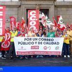 CCOO cifra en un 80% la primera jornada de Huelga General en Correos y lo califica de éxito rotundo