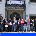"""Santiago del Teide vuelve a gritar """"NO"""" a la violencia de género"""