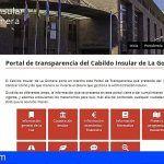 El Cabildo de La Gomera aumenta en más de cuatro puntos su nivel de transparencia en un año