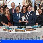 Las Islas Canarias reciben el premio al mejor Pabellón de Negocios de la World Travel Market de Londres