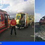 Rescatan a un senderista tras caerse en Montaña Roja